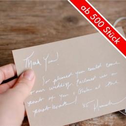 Dankeskarten in Handschrift als Paketbeileger-von-Pensaki-min