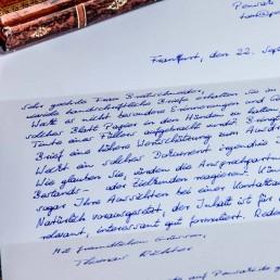 Individuelle Briefe in Handschrift von Pensaki ab 500 Stück