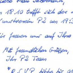 Roboter Handschrift SETH - kostenlose Standardhandschrift