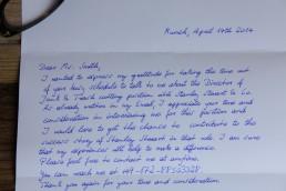 beautiful handwritten robot letters from Pensaki.com