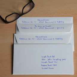 order handwritten letter online - 650 characters by a robot