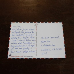 handgeschriebene Postkarte A6 mit bis zu 320 Zeichen