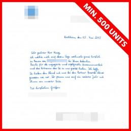 handwritten notes that drive success