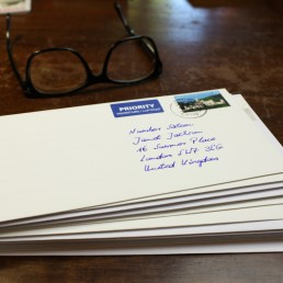hand addressed envelopes generate open rates of 95 percent