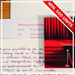 bespoke handwritten invitations generate success