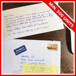 handwritten letter services by pensaki make you win