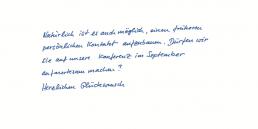 VIP Individual Pensaki Handschrift COREY
