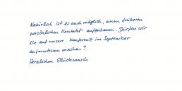 VIP Pensaki Handschrift COREY