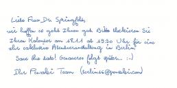 Pensaki Handschrift GLEN Standard