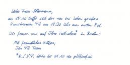 Pensaki Handschrift SETH Standard
