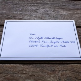 Order this exclusive handwritten sympathy card ∙ The Art of Condolence