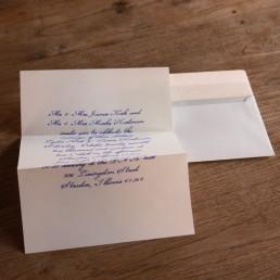 10 Bespoke Pensaki Calligraphy Letters from Pensaki including envelopes
