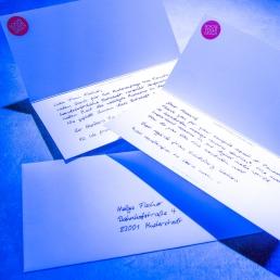 Handwritten letter service Pensaki robots