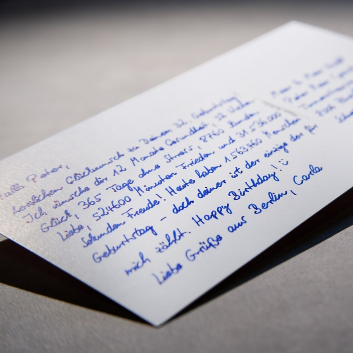Einladungen Handschrift Roboter Pensaki Muster