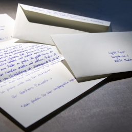 Handgeschriebener Brief mit bis zu 1000 Zeichen inkl. Versand