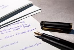 Briefe Roboter Handschrift Pensaki