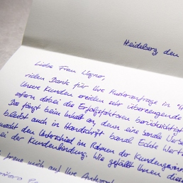 Handwritten letters generate 30 percent response rate