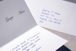 Dankeskarte Handschrift Roboter Pensaki