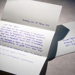 Handgeschriebener Brief A4 650 von Pensaki