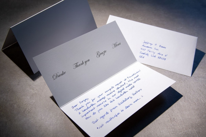 Briefe zur Kundengewinnung in Handschrift Pensaki-9-min