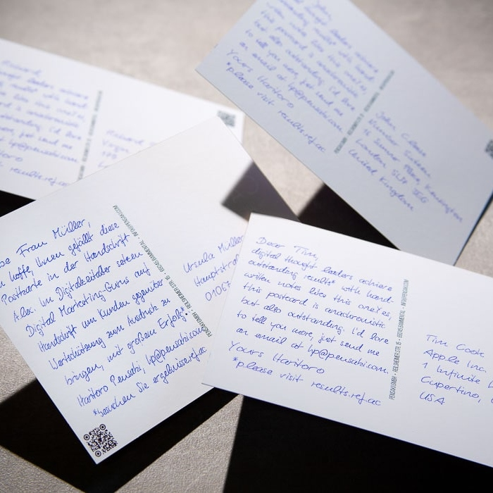 Handwritten Reactivation Campaigns with A6 Postcards