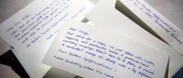 Handwritten Letters from Pensaki generated many leads