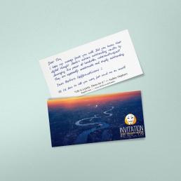 Paketbeilagen in Handschrift von Pensaki erfreuen Ihre Kunden