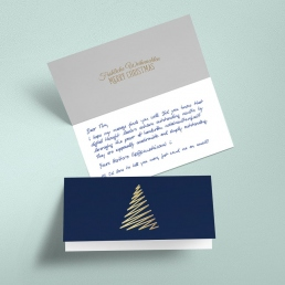 Handwritten Christmas Card order online