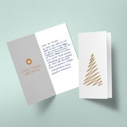 Karten in Handschrift online bestellen mit Kuverts und Briefversand Pensaki