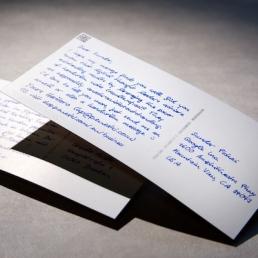 Postkarten in Handschrift online bestellen ohne Kuverts von Pensaki 400x400 01-min