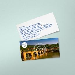 Kundenbindung mit handschriftlichen Postkarten von PENSAKI
