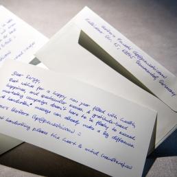 Handgeschriebene Karten Deluxe