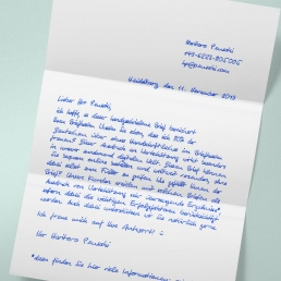 Handwritten Letter A4 1000 including envelopes Pensaki