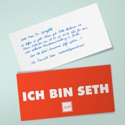 SETH Roboter Handschrift von Pensaki
