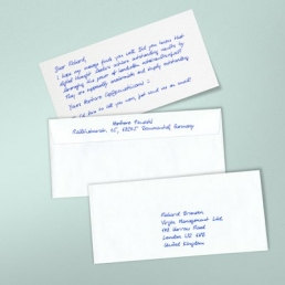 PENSAKI Handgeschriebene Briefkarten PREMIUM mit Kuverts