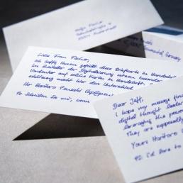 Handschriftliche Karten Premium mit bis zu 400 Zeichen