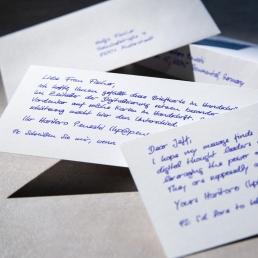 bespoke handwritten invitations that convert by PENSAKI