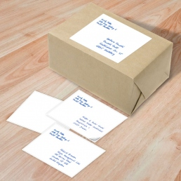 handwritten address labels at scale by PENSAKI