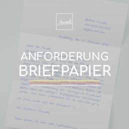 PENSAKI Anforderungen Papier Briefpapier