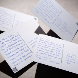 Surprise and delight your customers with handwritten postcards DIN A6