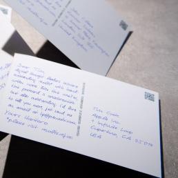 order handwritten postcards DIN A6 online ・ PENSAKI