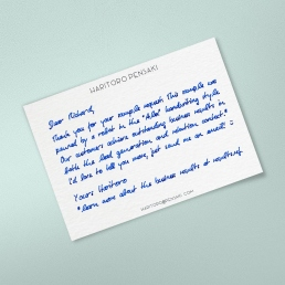 lead generation marketing letter by PENSAKI