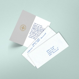 personalized thank you notes by PENSAKI