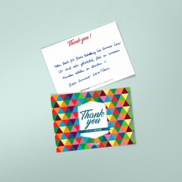 handwritten thank you notes are effective packaging Inserts