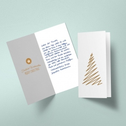 handwritten christmas cards delight your customers