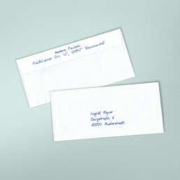 hand addressed envelopes for successful direct mail campaigns