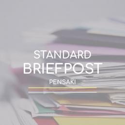 PENSAKI Versand: Standard Briefpost Deutsche Post Global Mail