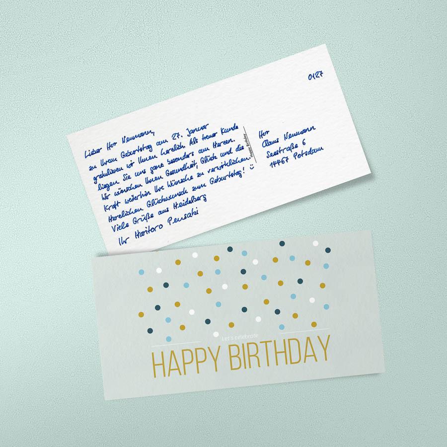 Geburtstagskarten zum beschriften