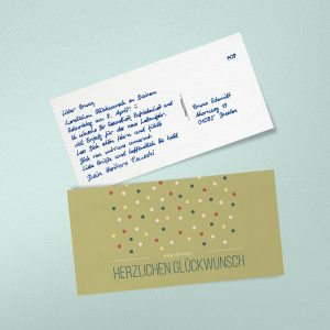 Handgeschriebene Geburtstagskarten begeistern Ihre Kunden