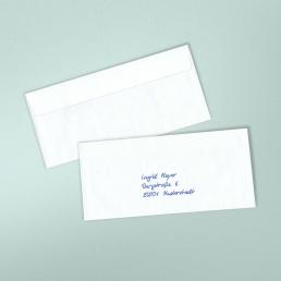 Handgeschriebene Kuverts Kuvert1S